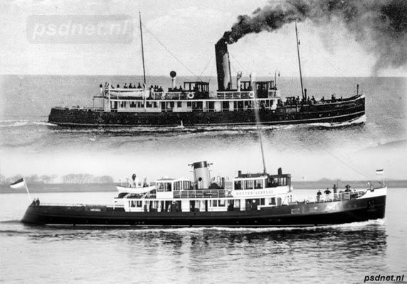 Verschillen tussen de Zeeuwsch-Vlaanderen (1916) en de Oosterschelde (1933)