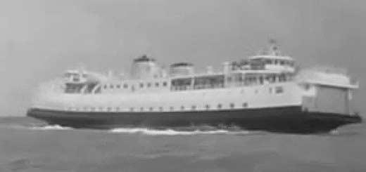 Video 1958 opening veerhaven Breskens