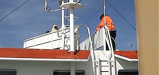 Video stuurhuis PSD-veerboot Prins Willem-Alexander