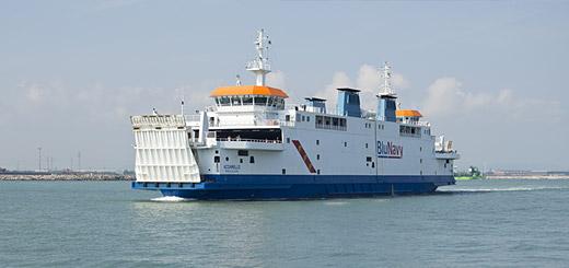 Voormalige PSD-veerboot Prins Johan Friso
