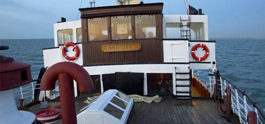 Voormalige PSD-veerboot Koningin Emma