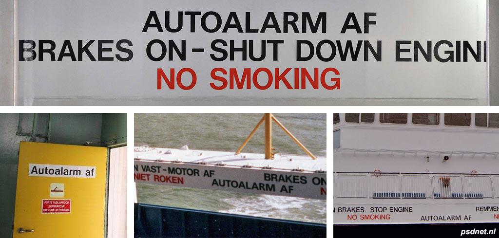 Autoalarm af!