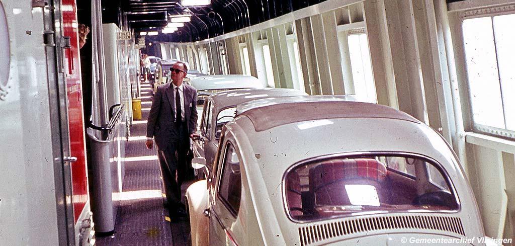 Auto's in de zijgang