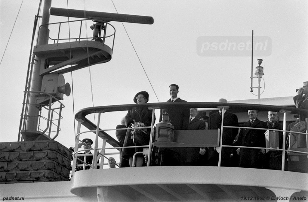 Meerdere keren is de Prinses Margriet gebruikt als koninklijk jacht, bijvoorbeeld bij de opening van het vernieuwde Kanaal van Gent naar Terneuzen in 1968.