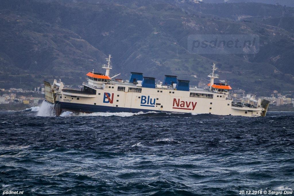 In Italië staat de voormalige PSD-veerboot Prins Johan Friso bekend om de uitstekende vaareigenschappen en zeewaardigheid