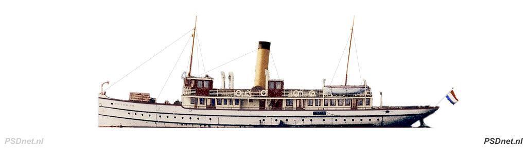 Zijaanzicht PSD Noord-Beveland (1912)
