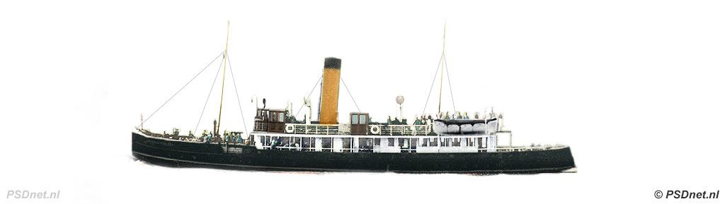 Zijaanzicht PSD Zeeuwsch-Vlaanderen (1916)