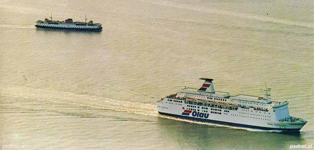 PSD Prinses Margriet en ferry Olau