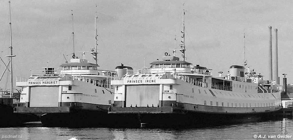 Drie zusterschepen PSD Zeeland