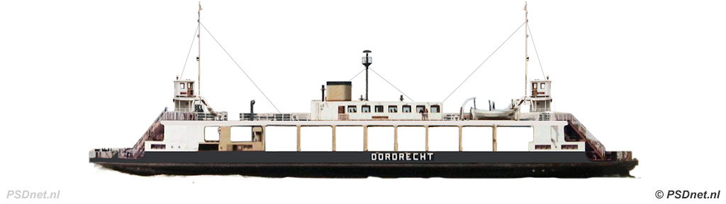 Zijaanzicht Moerdijkpont Dordrecht (1933)
