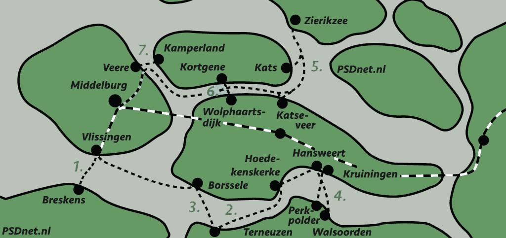 Zeelandkaart