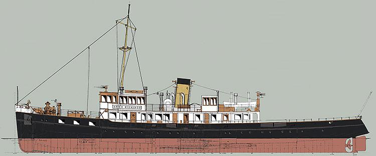 Zijaanzicht-Koningin-Emma-1933-750px